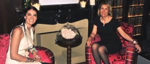 de g. à d.: Eléonore De Poortere et Odile Habel
