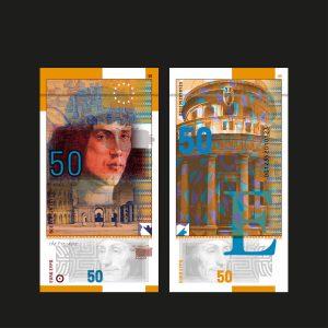 Billet euro 50