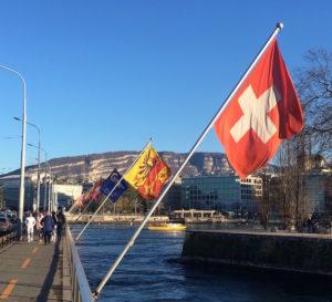 geneve drapeaux