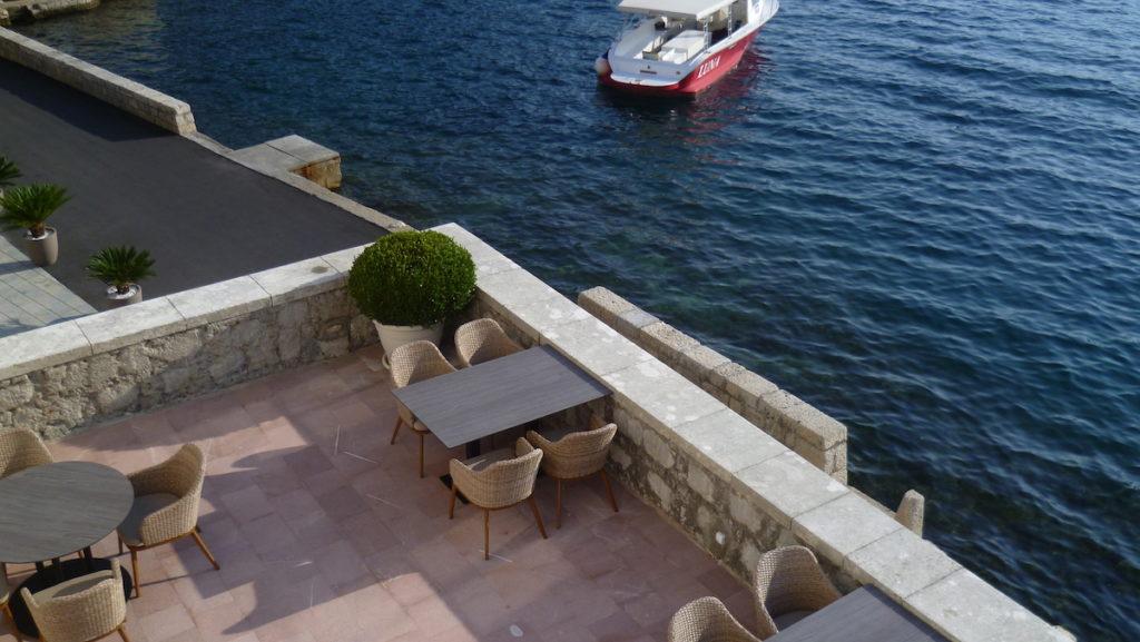 terrasse hotel bateau
