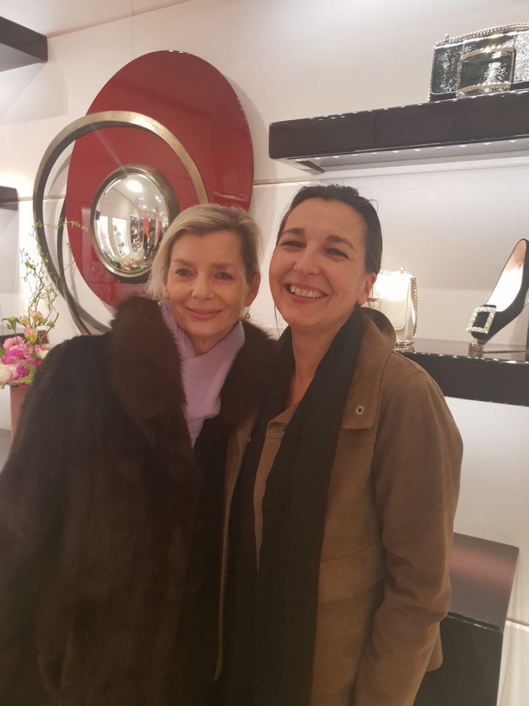 Corinne Mory et Rita Lercoz