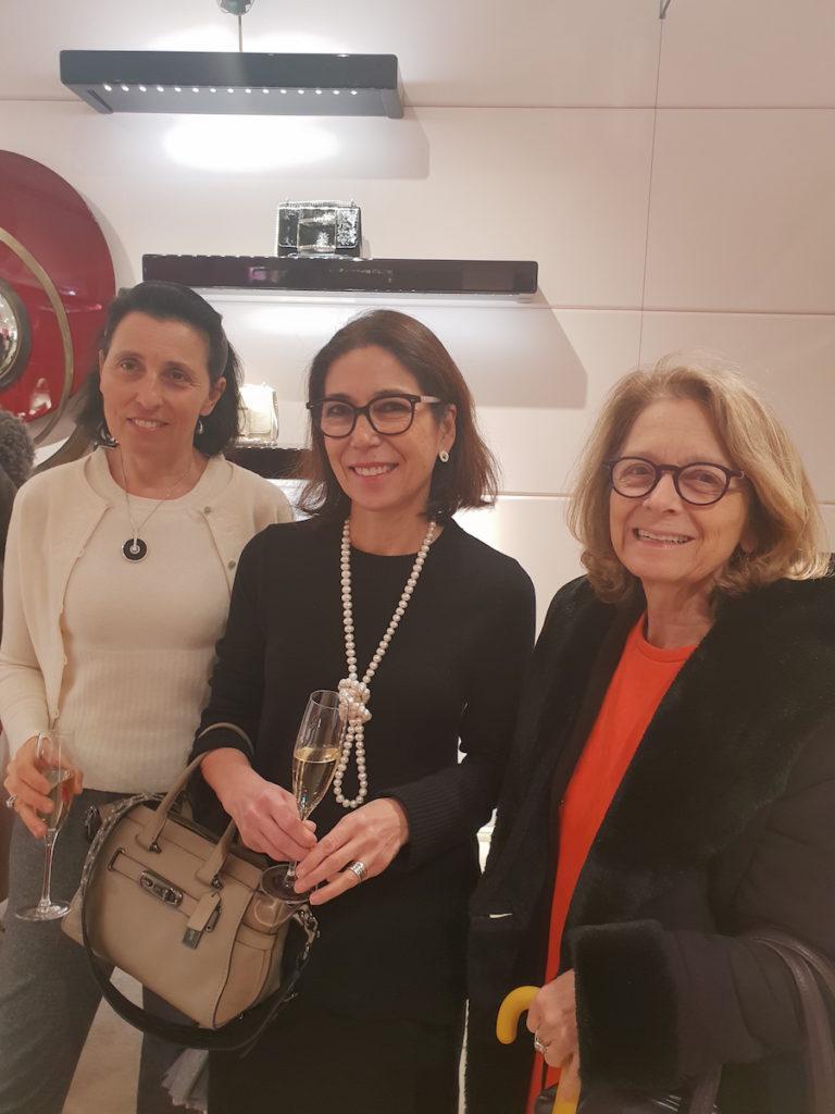 De g. à d. Catherine Leopold-Metzger, Anne-Marie Morrongiello, Sophie Lagrange