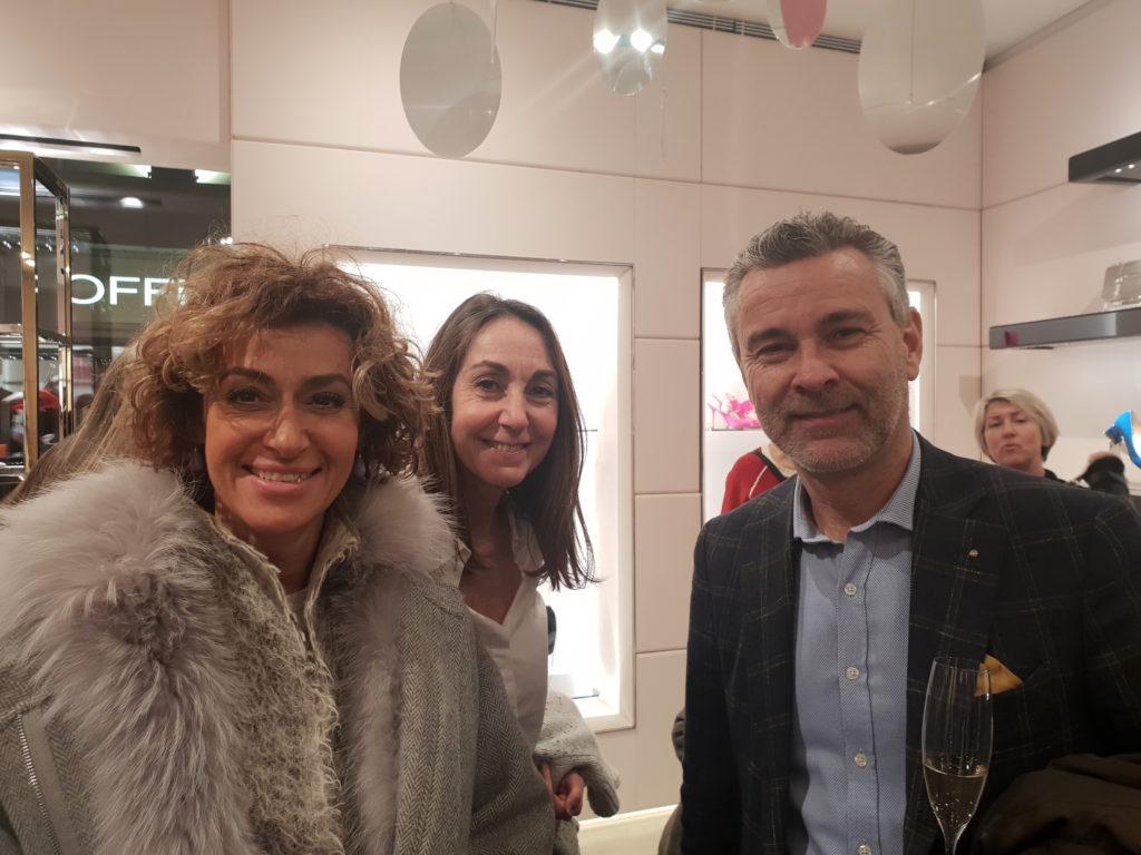 De g. à d. Sophie Luthy, Claudia Torrequadra, Pascal Luthy