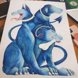 chien dessin