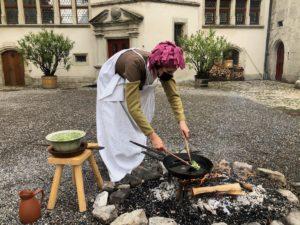 chateau Lenzbourg cuisinière