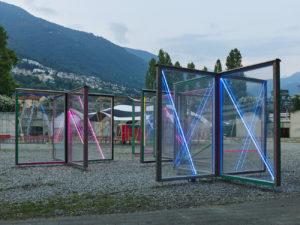 Kerim Seiler Installation La Rotonda, Locarno Film Festival 2021